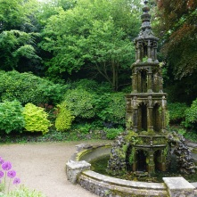 Gothic Fountain at Plantation Garden, Norwich