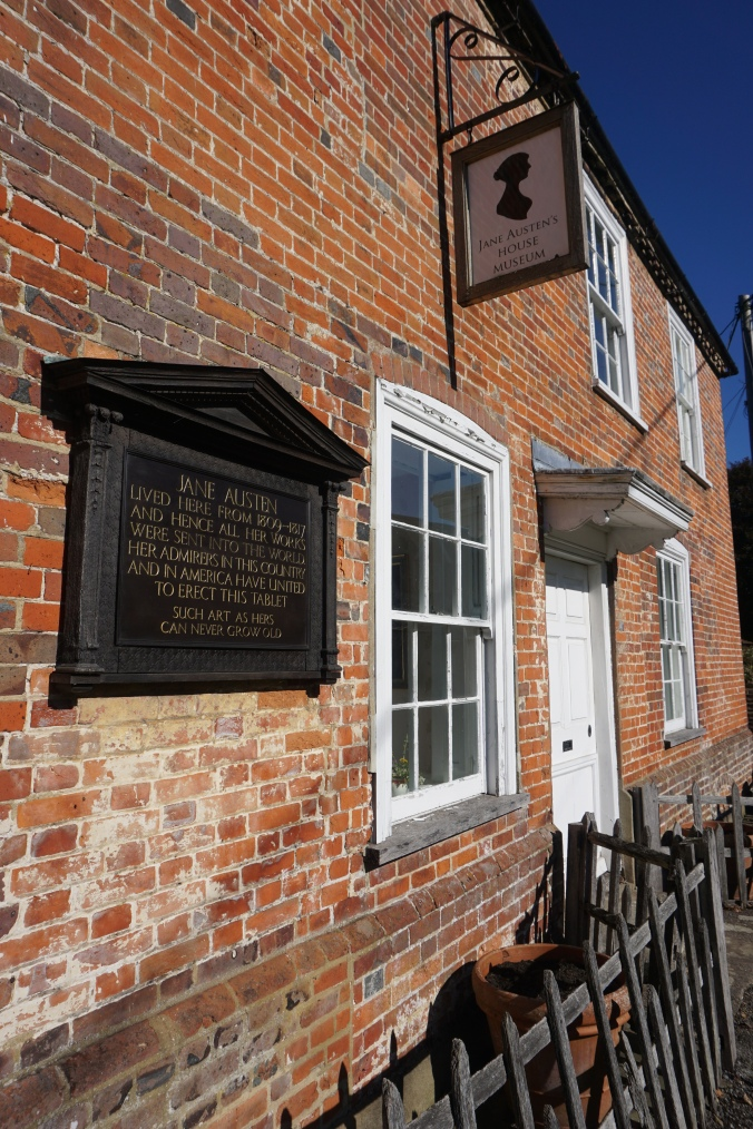 Exterior of Jane Austen's House Museum