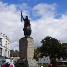 Statue of King Alfred in Winchester