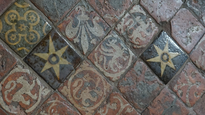 Medieval Floor Tiles at Winchester Cathedral