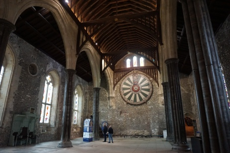 The Great Hall and King Arthur's Round Table