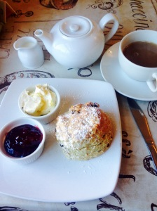 Cream Tea at Cassandra's in Chawton
