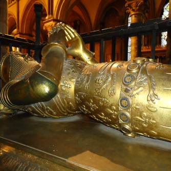 Bronze effigy of the Black Prince 2011
