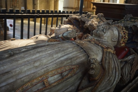 Tomb of King Henry IV (d 1413) and his wife, Joan of Navarre
