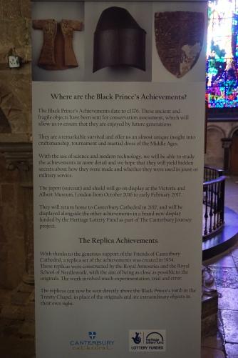 Missing Black Prince 'Achievements' 2017