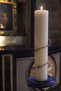 Candle to remember all who suffer injustice in the World