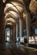 Displays in the Cathedral