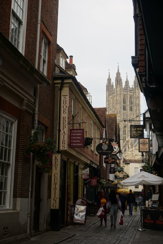 View of the Cathedral from a side street