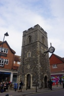 The church where Christopher Marlowe was baptised