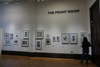 Gallery exhibition at the Free Library