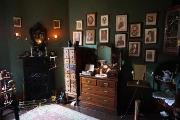 Sherlock's bedroom