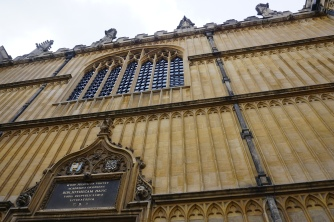 Exterior of the Entrance to the Divinity School