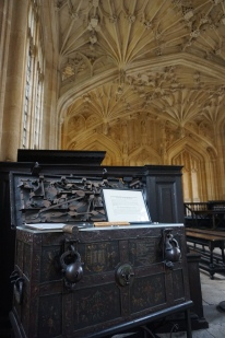 Bodley's Chest in the Divinity School