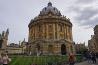 Exterior of Radcliffe Camera at Oxford