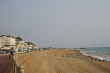 Beach at Hastings