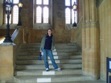 Staircase to Great Hall