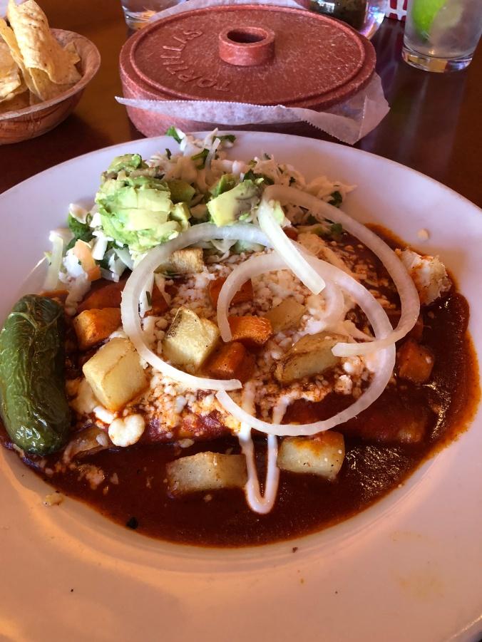 Lunch at Rosario's in San Antonio