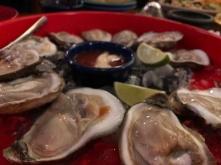 Oysters at La Margarita