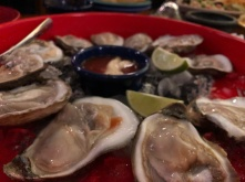 Oysters at La Margarita