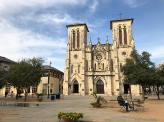 Morning shot of San Fernando Cathedral