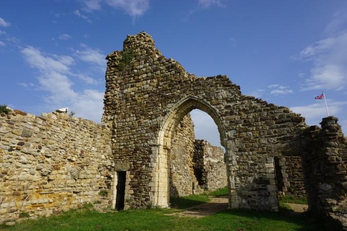 Ruins of Hastings Castle
